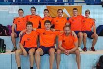 Ústecká akademie plaveckých sportů na MČR družstev 2021, 4. místo muži I. liga.