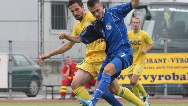 Ostře sledované derby severu mezi domácím Ústím a Teplicemi vyhrál hostující favorit.