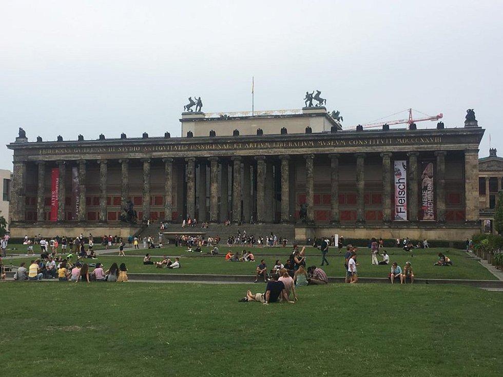 Víkend v Berlíně.