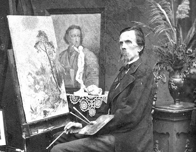 Skvělý ústecký krajinář Ernst Gustav Doerell se narodil v saském Freibergu.