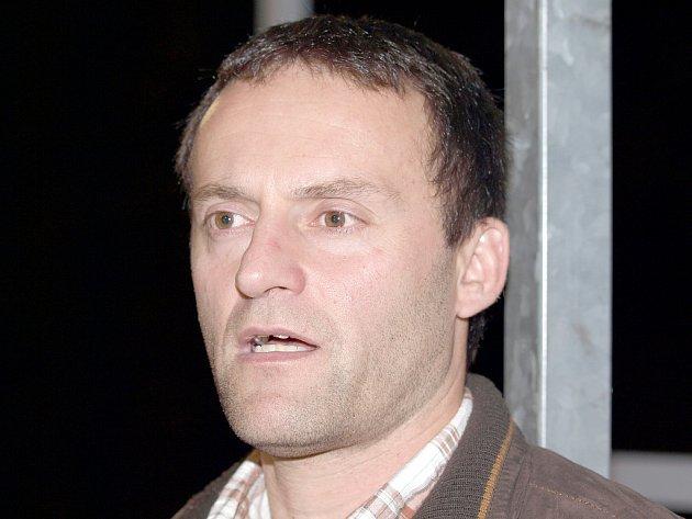 Trenér ústeckých hokejbalistů Patrik Cerman. ... 6ff949f3ee4