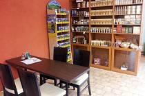 Kavárna Pod Parkem.