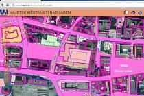 Nová aplikace na webu města Ústí nad Labem.
