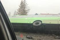Nehoda autobusu u Libouchce.