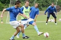 Ústečtí prvoligoví fotbalisté doposud ladili formu na tréninku. Ve středu vyběhnou v Sedmihorkách k prvnímu přípravnému střetnutí, když změří síly s ambiciózním Jabloncem.