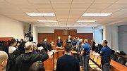 Vynesení rozsudku nad vrahy z Bitozevsi. Ústí nad Labem, 11. ledna 2019