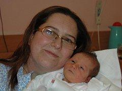 Kateřina Horáčková,  porodila v ústecké porodnici dne 20. 11. (9.04) dceru Hanu (50 cm, 3,22 kg).