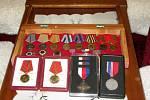 Dvaadevadesátiletý veterán druhé světové války žije v Chomutově.
