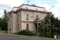 Vila v Krásném Březně.