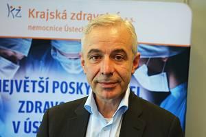 Generální ředitel Krajské zdravotní Petr Malý