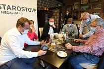 Volební štáb Starostů s nezávislých v Ústí nad Labem