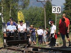 V Zubrnicích v areálu muzeální železnice proběhl v sobotu den drezín.