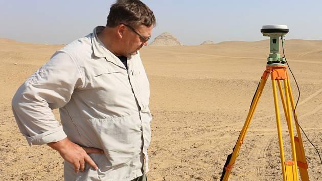 Ústecký archeolog Vladimír Brůna se vrátil z Egypta.