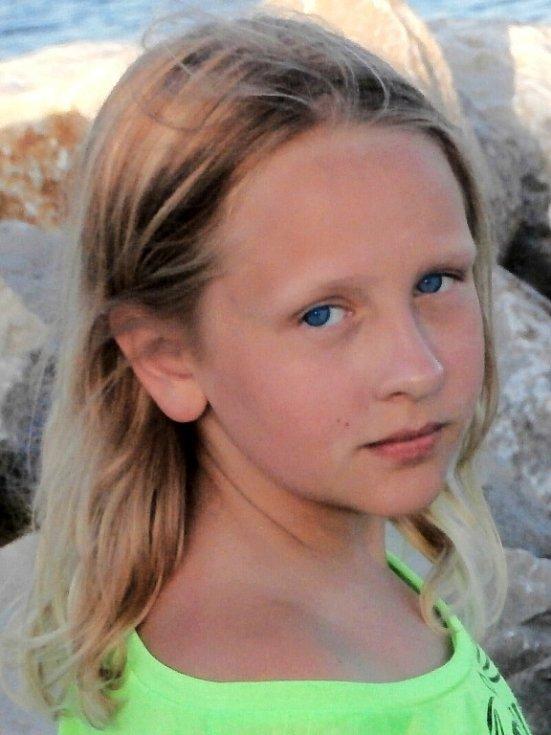 15. VIVIAN TUHÁČKOVÁ, 11 let, Litvínov.