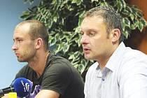 Na kapitána Lukáše Dvořáka a trenéra Svatopluka Habance se bude v FK Ústí v ligové sezoně hodně spoléhat.