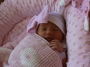 Leontýnka Flígrová se narodila Kristýně Flígrové z Libouchce 28. srpna v 0.39 hod. v ústecké porodnici. Měřila 48 cm a vážila 2.85 kg.