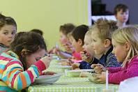 Školní jídelna, ilustrační foto.