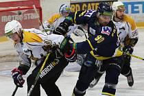 Severočeské derby mezi hokejisty Ústí nad Labem a Kadaně, ilustrační foto