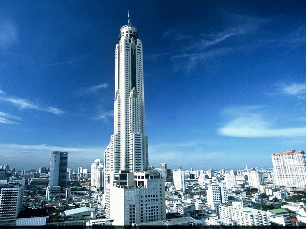 Baiyoke Sky, Bangkok, Thajsko – 328 m.
