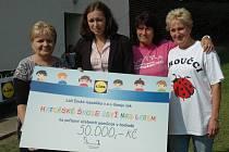 Školka dostala od společnosti Lidl 50 tisíc korun.