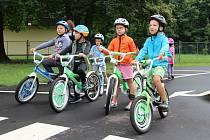 Děti otvíraly dopravní hřiště v Krásném Březně