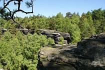 PTAČÍ SKÁLY jsou rájem pro turisty i lezce, kteří zde najdou krásné přírodní scenérie.