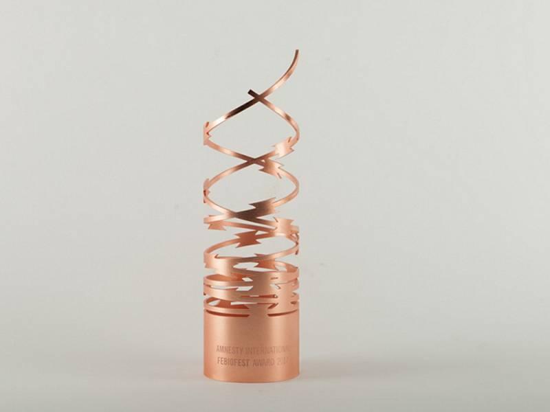Studenti designu z Ústí navrhli cenu Amnesty pro Febiofest.