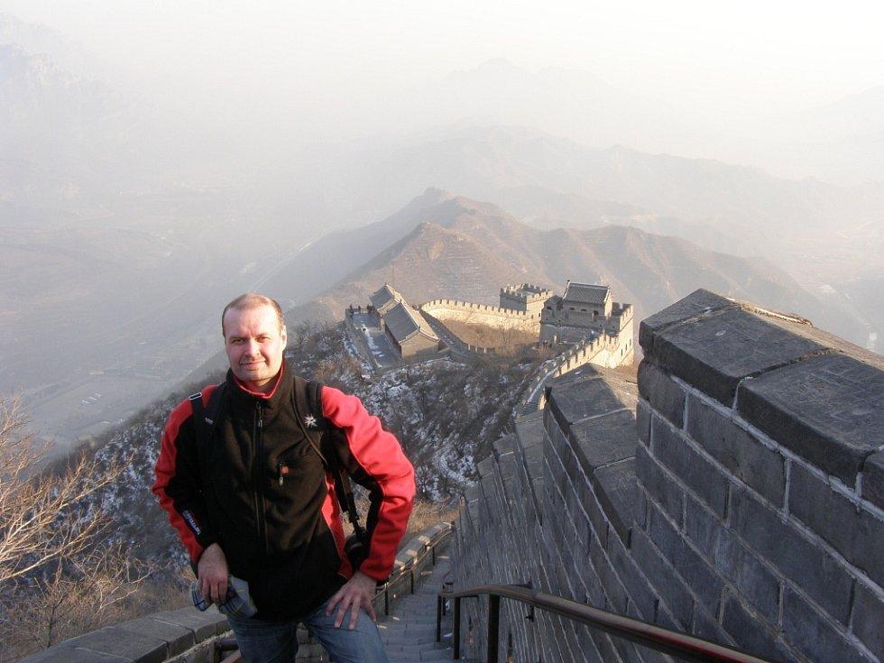 Snímek z cesty po šanghaji a Pekingu.