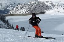 Lyžařské středisko v tyrolském  Galtüru.