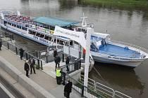 Ústí nad Labem má nové přístaviště.
