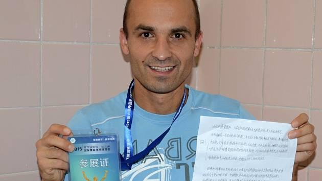 Mladý učitel z Malečova David Cihlář je nejen skvělý sportovec, ale i vyhledávaný masér.