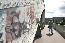 Benešův most v Ústí nad Labem. Ilustrační foto.