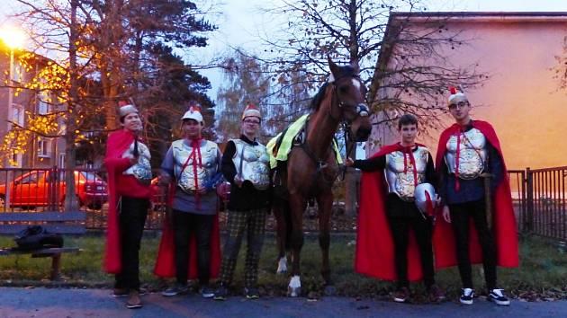Svatomartinská slavnost na ZŠ Vojnovičova vÚstí nad Labem
