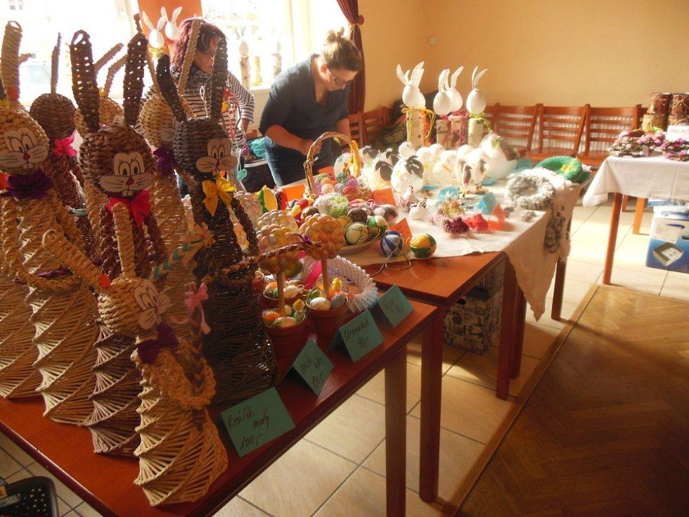 V Chabařovicích proběhl Velikonoční jarmark.