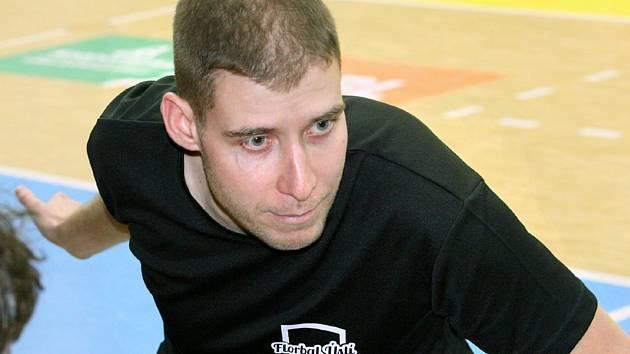 Marek Vojta, trenér Florbal Ústí.