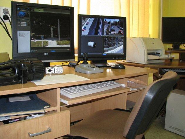 Část nových policejních kamerových systémů ve městě zůstává bez stálého dozoru.