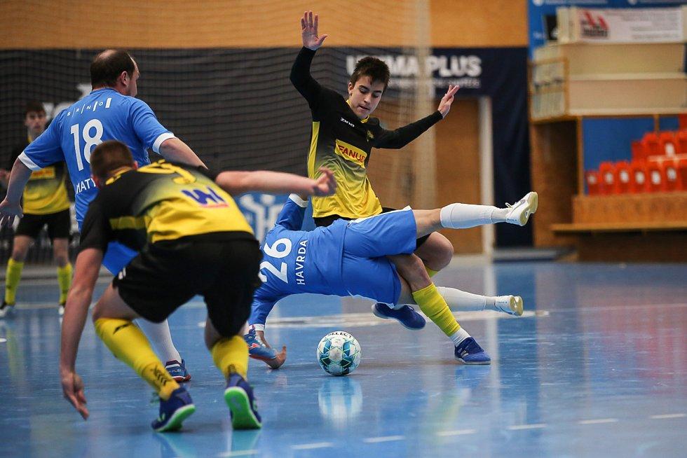 Rapid Ústí n. L. - Helas Brno, 1. FUTSAL liga 2020/2021.