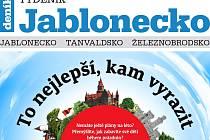 Nejnovější vydání Týdeníku Jablonecko