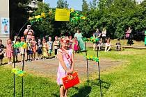V prostorách Mateřské školy Větrná se uskutečnilo slavnostní vyřazení dětí.