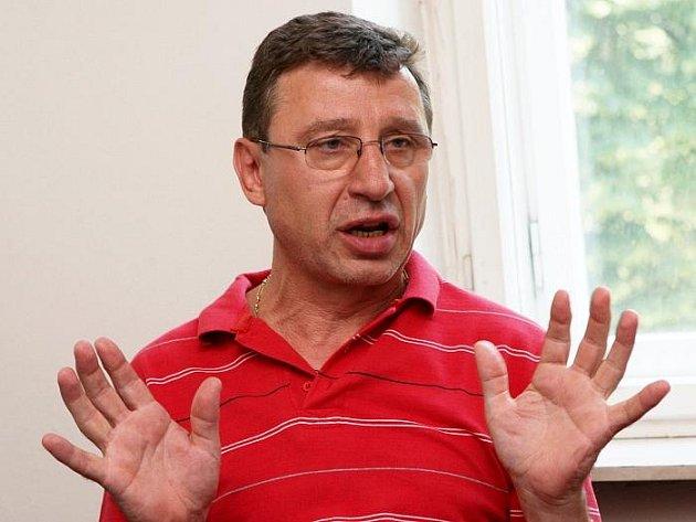 Šéf českého boxu Svatopluk Žáček.