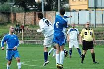Fotbalisté Trmic prohráli doma s Českou Kamenicí 1:2.