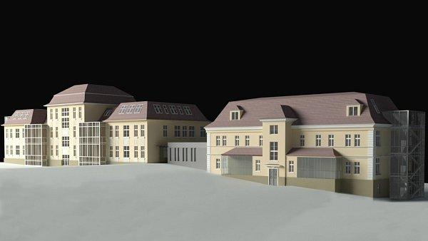 Budovy filozofické fakulty, jež nesou označení F1 a F2, se dočkají rekonstrukce.