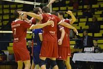 Volejbalisté Ústí zatím příliš důvodu k radosti v nové sezoně nemají.