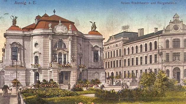 Severočeského divadlo v Ústí nad Labem.