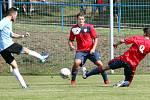 Fotbalisté Chlumce (červenomodří)