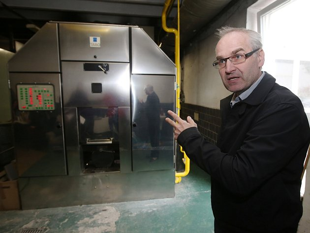 Jiří Šauer, nájemce krematoria v Ústí nad Labem-Střekově
