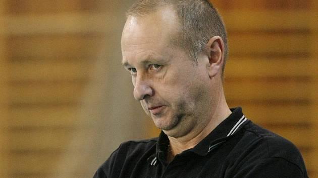 Trenér ústeckých volejbalistů Miroslav Malán.