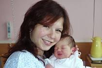 Lenka Hulínová, porodila v ústecké porodnici dne 7. 10. 2012 (10.13) dceru Johanku (50 cm, 3,18 kg).