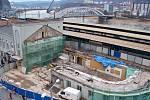 Rekonstrukce hlavního vlakového nádraží v Ústí, 2012