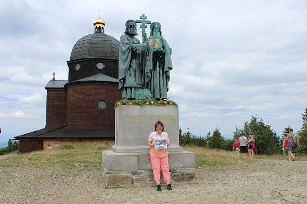 Dovolenou na Moravě a výlety po okolí si Ústečanka Margita užívala.